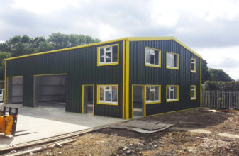 Bespoke Steel Building Designs and Colours?